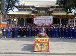 南昌市道教协会举行建国七十周年祈福法会